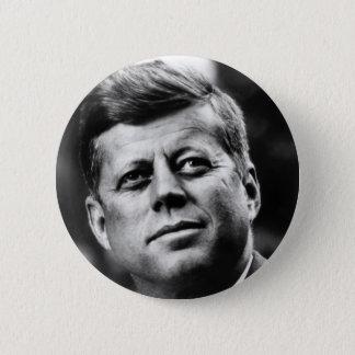 John F Kennedy Portrait 2 Inch Round Button