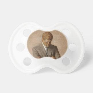 John F. Kennedy Portrait Baby Pacifier