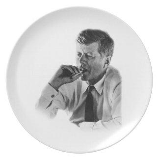 John F Kennedy Smoking Plate