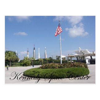 John F. Kennedy Space Center Postcard