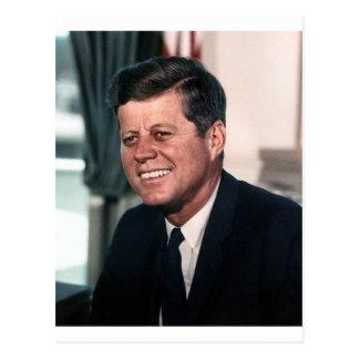 John F. Kennedy White House Color Portrait Postcard