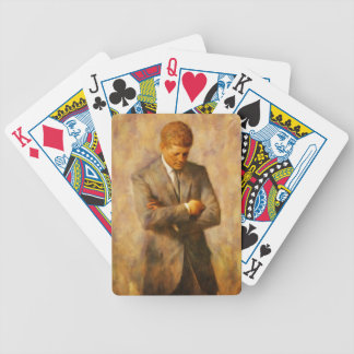 John Fitzgerald Kennedy Bicycle Playing Cards