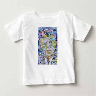 john fitzgerald kennedy - watercolor portrait.1 baby T-Shirt