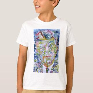 john fitzgerald kennedy - watercolor portrait.1 T-Shirt