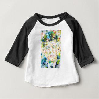 john fitzgerald kennedy - watercolor portrait.3 baby T-Shirt