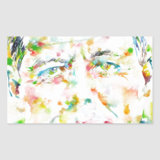 john fitzgerald kennedy - watercolor portrait.3 sticker