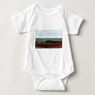 John Frederick Kensett Salt Meadow in October Baby Bodysuit