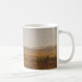 John Frederick Kensett - Snowy Range and Foothills Coffee Mug