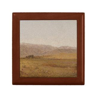 John Frederick Kensett - Snowy Range and Foothills Keepsake Box