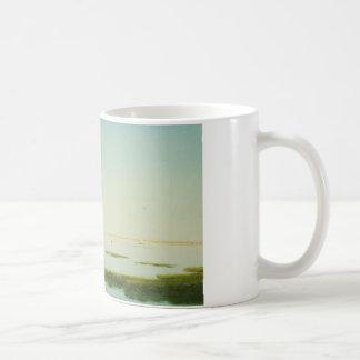 John Frederick Kensett - View of the Shrewsbury Coffee Mug