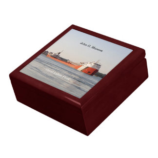 John G. Munson keepsake box