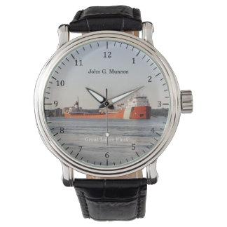 John G. Munson watch