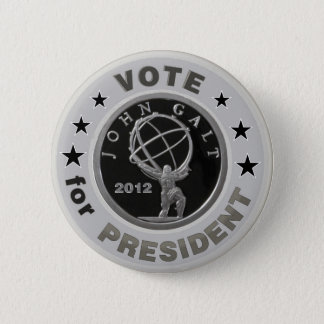 John Galt for President 2 Inch Round Button