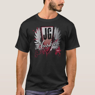 John Glenn Little Muskies - Black T-Shirt