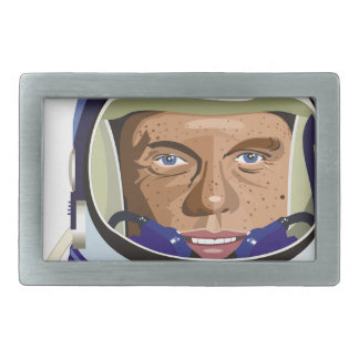 John Glenn Rectangular Belt Buckles