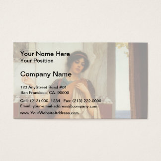 John Godward- A Stitch in Time (Idle Thoughts) Business Card