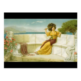 John Godward- In the Prime of the Summer Time Postcard