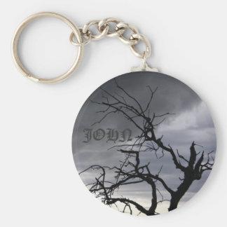 John - Guadalupe Tree Keychain