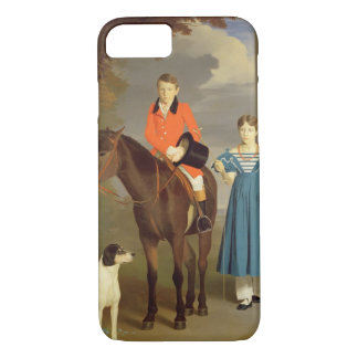 John Gubbins Newton and his Sister Mary, 1832-33 ( iPhone 7 Case