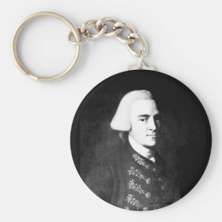 John Hancock.  Copy of painting _War Image Basic Round Button Keychain