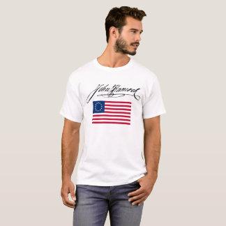 John hancock signature flag T-Shirt