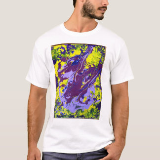 John has Cerebral Palsy and make art T-Shirt