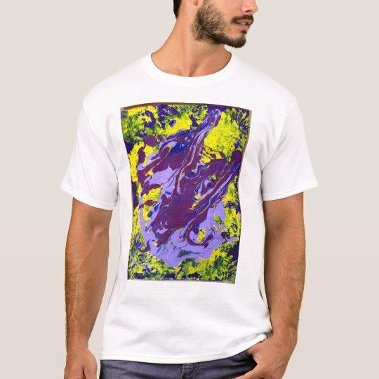 John has Cerebral Palsy and make art T-Shirt