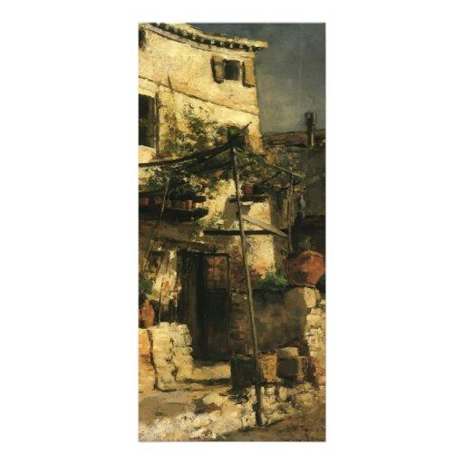 John Henry Twachtman- A Venetian Scene Personalized Rack Card