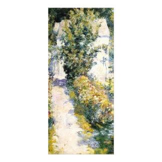 John Henry Twachtman- Azaleas Customized Rack Card