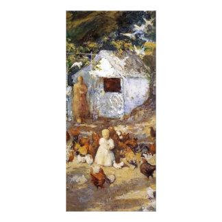 John Henry Twachtman- Barnyard Rack Cards