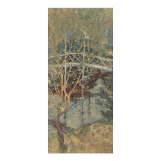 John Henry Twachtman- The White Bridge Rack Cards