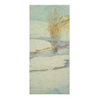 John Henry Twachtman- Winter Landscape Rack Card