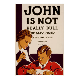 John is not really dull poster