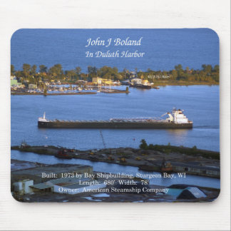 John J. Boland Duluth mousepad