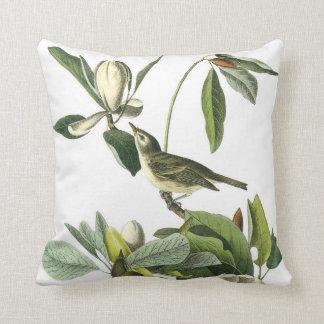 John James Audubon Vireo Pillow