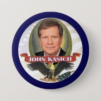 John Kasich 2016 3 Inch Round Button