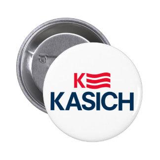 """John Kasich 2016 Campaign Button - 2.25"""" Round"""