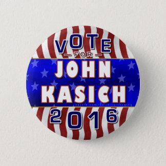 John Kasich President 2016 Election Republican 2 Inch Round Button