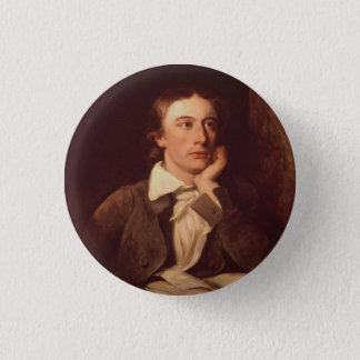John Keats 1 Inch Round Button