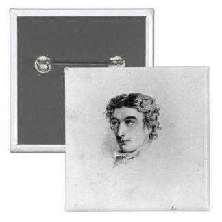 John Keats 2 Inch Square Button