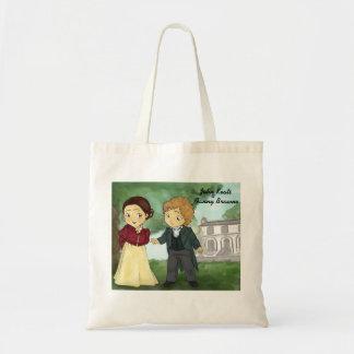 John Keats & Fanny Brawne Tote Bag