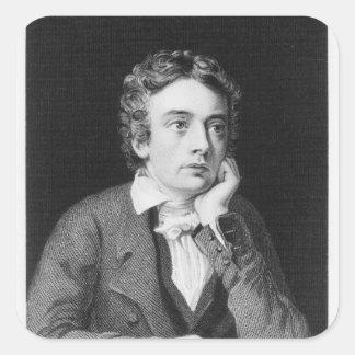 John Keats Square Sticker