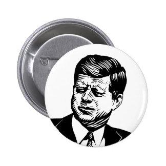 John Kennedy 2 Inch Round Button