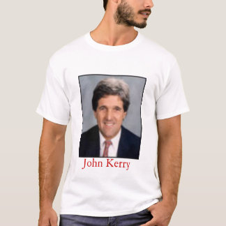 John Kerry - Is he for or against us? T-Shirt