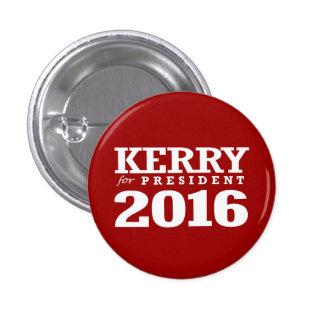 JOHN KERRY POUR LE PRÉSIDENT MACARON ROND 2,50 CM