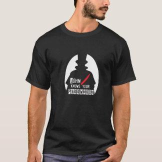 John Knows Your Passwords H@CK3R T (Hacker T) T-Shirt