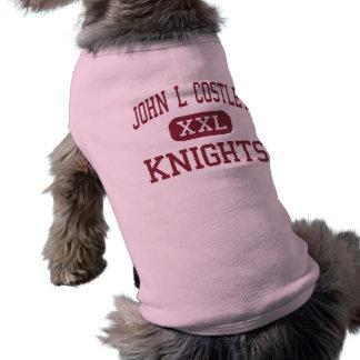 John L Costley - Knights - Middle - East Orange Shirt