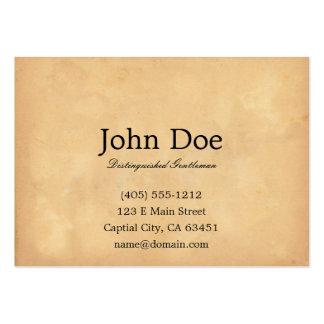 John L Sullivan Calling Card Business Cards