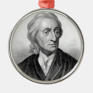 John Locke Metal Ornament