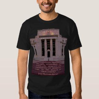 John Maynard Keynes Quote on the Federal Reserve T Shirt